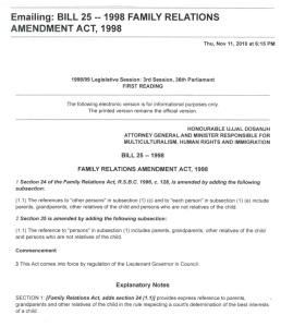 Bill 25